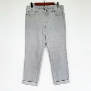 Eddie Bauer Gray Straight Leg Denim Jeans